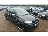 Renault Megane 2.0 dCi Sport GT 3dr, 1 YEAR MOT, HPI CLEAR, LOW MILEAGE, DIESEL, P/X WELCOME