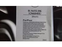Black ink cartridge x3