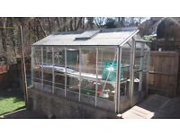 SOLD - Greenhouse 12ft x 6ft