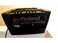GUITAR AMPLIFIER - ROLAND ACOUSTIC CHORUS AC-60