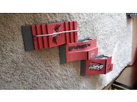 3 x Finger skate tracks