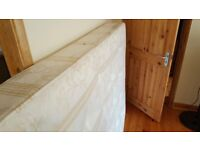 mattress size double bed
