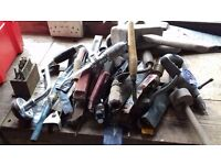 Box of Assorted Hand Tools