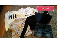 Age 10-11 girls clothes
