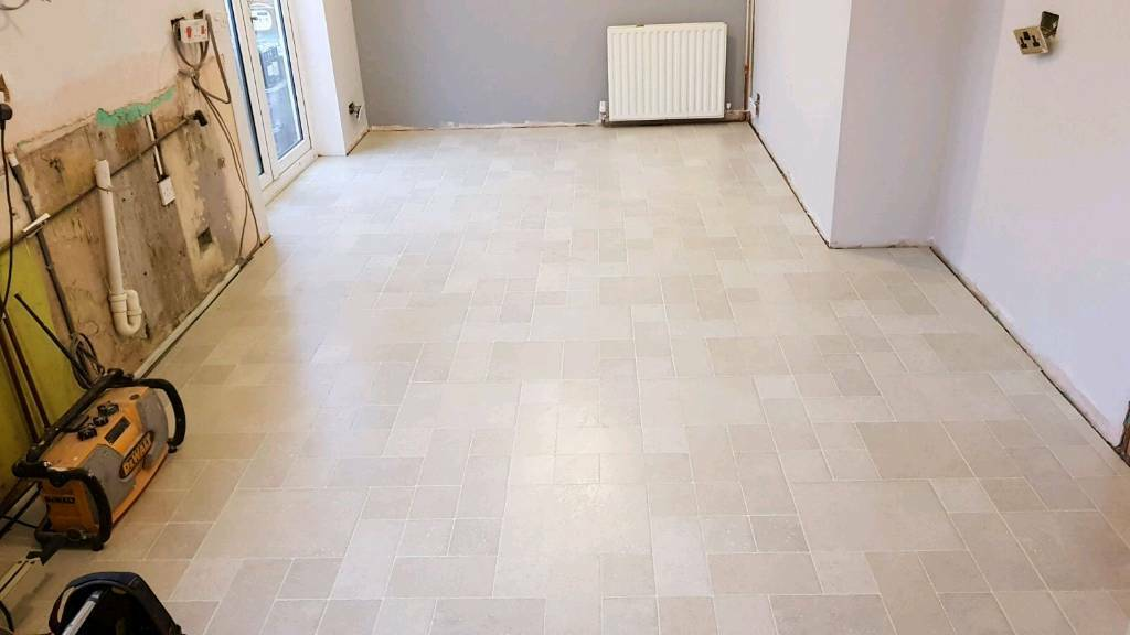 quality kitchen flooring top quality brand new light tile effect kitchen 1697
