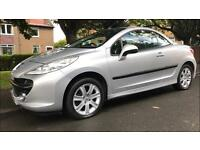 Peugeot Convertible 207 1.6 Low Mileage- 12 Months Mot