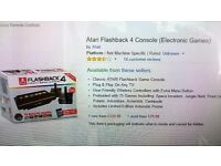 ATARI FLASHBACK 4 ELECTRONIC GAMES CONSOLE