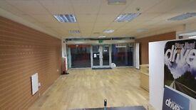 100 sq metres shop unit for lease