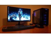 Brand new built! Full setup. Intel Skylyke, DDR4, GTX, SSD, Windows 10