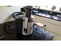 Used once very nice condition Aluminium Quality Juicer