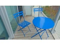 Garden / Balcony Table & Chairs. Quick Sale.