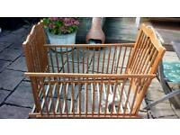 Beautiful baby's cot mama's & papa's solid wood