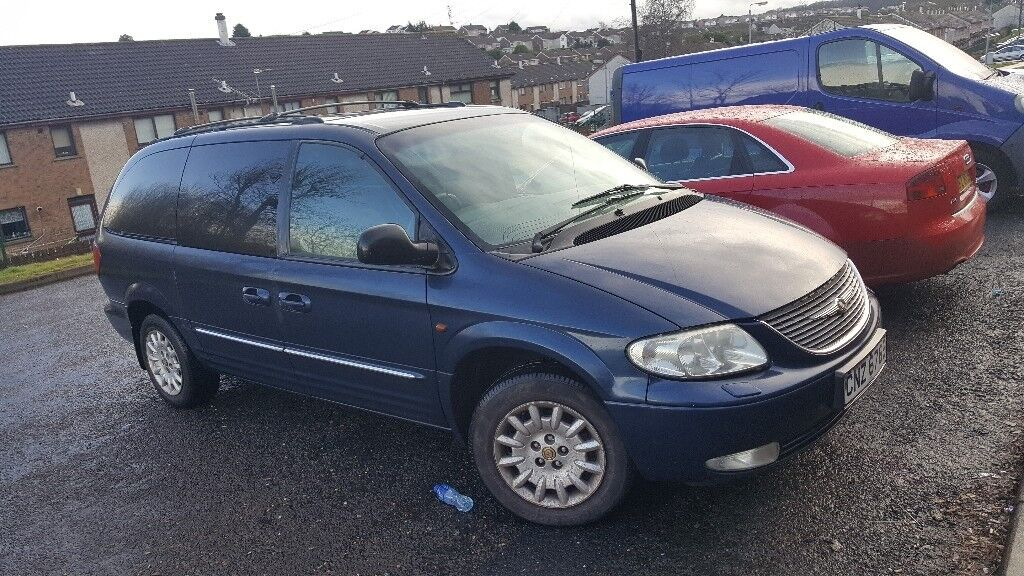 2002 Chrysler Grand Voyager 2 5 Crd Cheap 7 Seater