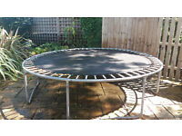 Trampoline 13 foot diameter. New springs fitted last year no padding available.no longer wanted