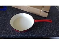 Brand new 20cm cast iron frying pan