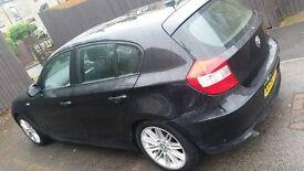 Bmw 118d 2 litre diesel 5 door black for sale