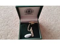 LIBRAN STERLING SILVER BIRTHSTONE NECKLACE - NEW in box