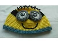Handmade Minions Hat.
