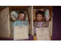 Ashton drake winnie the pooh patchwork quilt collection dolls