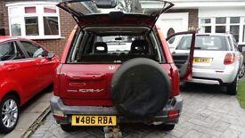 Honda CRV 2000 Plate W reg