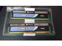 2x 2GB Corsair XMS3 DDR3 1333Mhz Memory Stcks