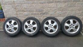 Vauxhall Alloy wheels 205 55 16
