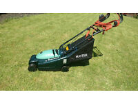 Hayter Envoy 36 posh electric lawn mower, GWO try before you buy. FREE LOCAL DELIVERY