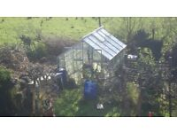 10x8 Green House. Buyer collects