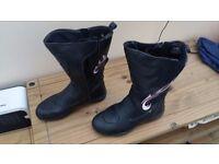 Ladies Bike boots size 8