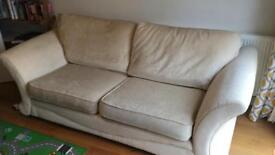 DFS two seater sofa barely used