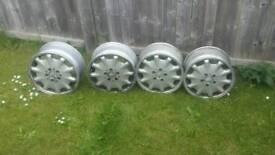 Mercedes 16 inch alloy wheels merc alloys