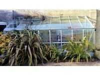 Greenhouse Large Aluminium Approx 8ft x 6.5ft