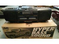 Vintage JVC RC-X510 Boombox