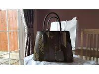 Genuine Prada - Shopping Patch F Militare Handbag