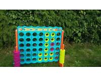 Large garden connect four