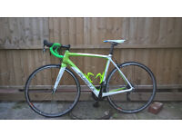 planet x rt58 carbon road bike size 54 m