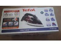 Tefal FV9740 Ultimate Anti Scale Steam Iron, 2800 W, Purple
