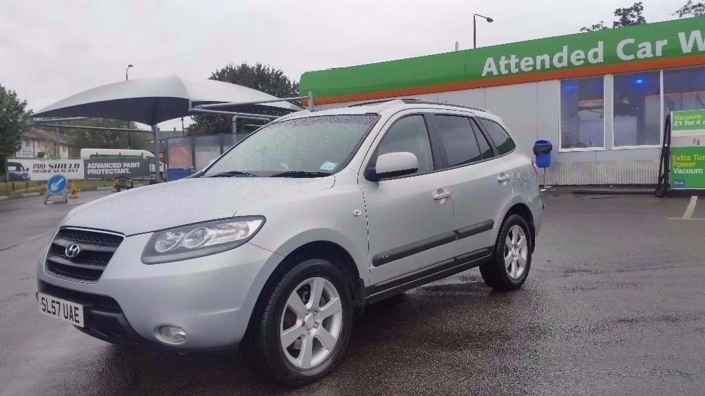 5 SEATER 2008 HYUNDAI SANTA FE AUTOMATIC. LONG MOT. CAMBELT REPLACED. FULL SERVICE HISTROY. 2 KEYS