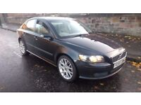 volvo s40 sport turbo diesel 2005 55 plate metallic black