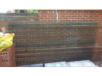 4x powdered coated hi security fence panels