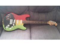 Airbrush guitars