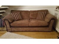 DFS 3 seater sofa & snuggle chair