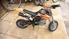 50cc mini moto kids bike