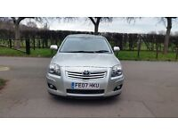 TOYOTA AVENSIS 1.8 T3 X 2007 1F/KEEPER 114000 MILES VOSA HISTORY CLIMATE AIR CON ALLOYS E/F/MIRORS