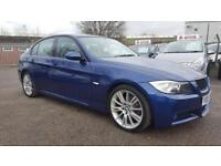 BMW 2.0 318D M SPORT 6 SPEED 2008 / TIMING CHAIN DONE / FSH / 77K MILES / EXCELLENT CONDITION 3 KEYS