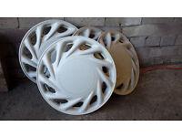 Wheel Trims (White) - Set of 4