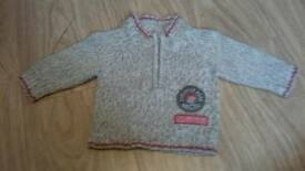 3-6m boys jumper.
