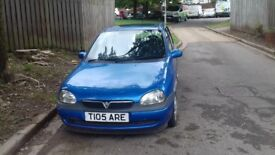 Automatic Vauxhall Corsa long MOT (spare or repairs)