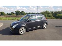 Suzuki Swift VVT, 5 door Electric windows, Air conditioning, MP3 player,Alloy wheels,Central locking