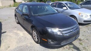 2011 Ford Fusion S (Manual Transmission) Great Winter Car AS IS